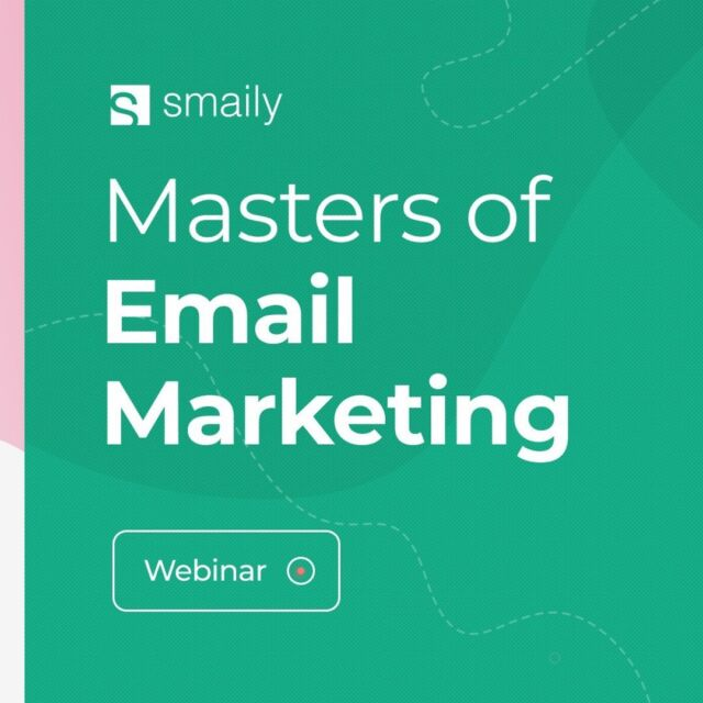 """👉 Do you want to increase your profits? 👉 Are you looking to connect with more potential customers? 👉 Would you like to make use of the most effective marketing channel? 👉 Are you ready to master email marketing? If you answered """"yes"""" to all of these questions, we've got something to help you reach those goals. 🥳 Join us on the 25th of August for our FREE webinar """"Masters of Email Marketing"""" to master the art of email marketing. Registering link is in the bio. 🏃♀️🏃 #wearesmaily #smaily #emailmarketingtips #marketingexperts #boostyourbusiness #newslettertips #markeringtipsforbusiness #freemarketingtips #freemarketingadvice #freemarketingwebinar"""