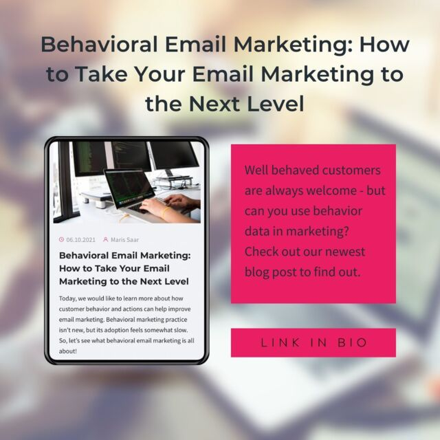 Nurturing your email list is important but making it specific and timely gives you a great advantage. So how can you use your email list to the max with behavioral marketing? 🤔 👉 Check our newest blog post to learn how much you can benefit from using behavioral marketing tools in email marketing! ❗️Link is in the bio.❗️ #smaily #wearesmaily #emailmarketingtools #digitalcontentmarketing #leadgenerationtips #onlinemarketingtip #marketingtipsandtricks #marketingstrategytips #digitalmarketingskills #marketinggoals #businesstipsforsuccess #marketingtips4you #emailmarketingstrategy #marketingcompany #businessmastery #digitalmarketingbusiness #strategicmarketing #listbuilding #businesstipsandtricks #digitalmarketing101 #successfulbusiness #businesshelp #onlinebusinesses #contentmarketingstrategy #onlinebusinesstips #marketingguru #marketingexpert #b2bmarketing #marketingtools #businesstip